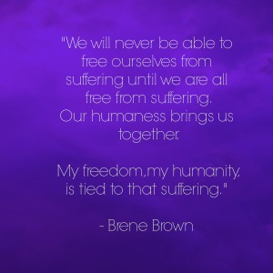 We won't free from suffering