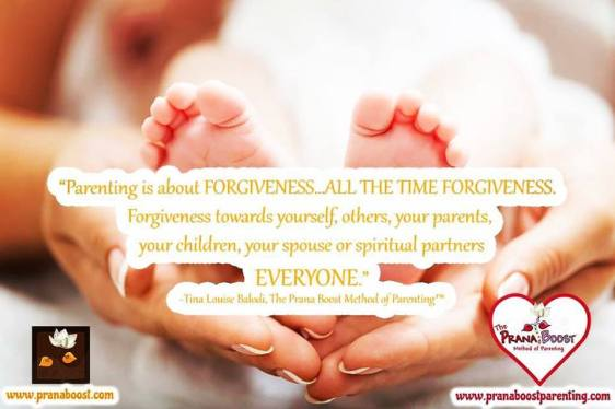 Forgivness- Tina Prana Booster