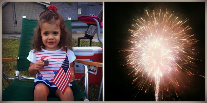 4th of July Bravery Fireworks