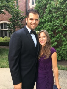 Ryan and Nicole at wedding