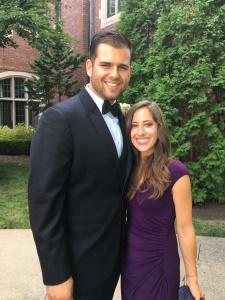 Ryan and Nicole at wedding