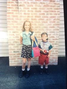 Ryan and Nicole 5th grade