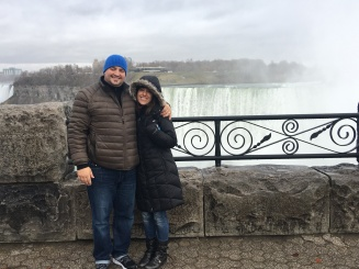 Our first (and probably last for awhile!) getaway, to Niagra Falls, Canada... I was pretty queasy