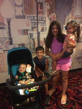 Niko's first movie: Incredibles 2
