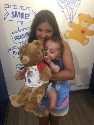 Niko and Charlie at Build-a-Bear