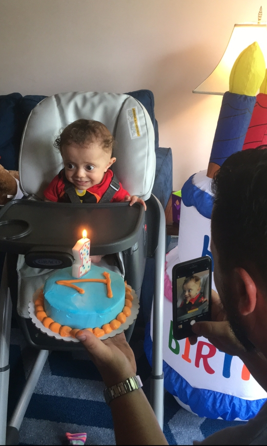 Niko's first birthday