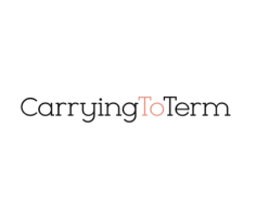 Carrying to term logo
