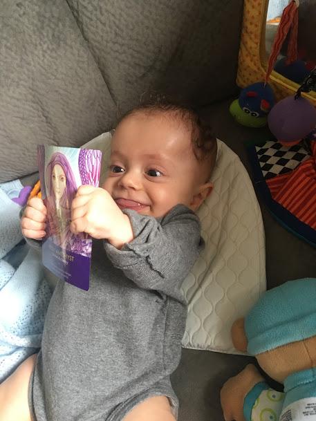 Babies love cards