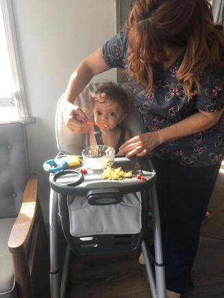 Ronna- feeding