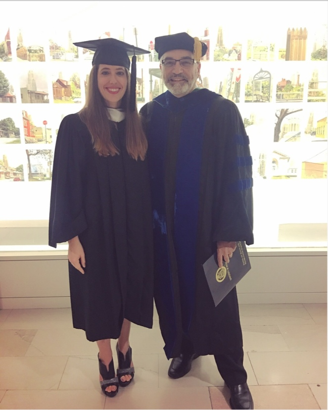 University of PIttsburgh's Health and Rehabilitation Sciences Recognition Day - Dean Delitto and Nikki Watson